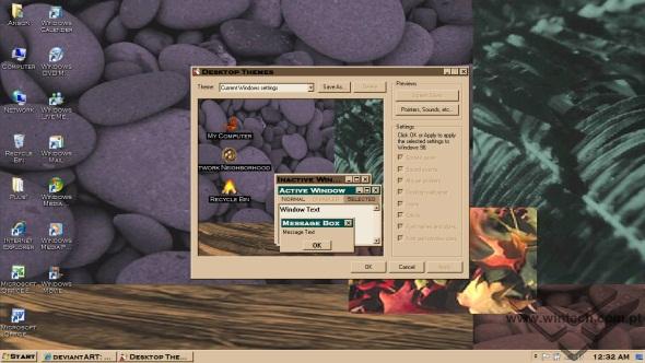 """Como Ter de Volta os """"Velhos"""" Themes do Windows 98 Plus! no Windows 7"""