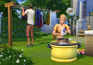 "EA e Maxis lançam ""The Sims 4 Laundry Day Stuff"""