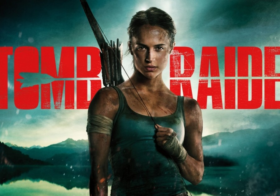 Alicia Vikander e Lara Croft — Actor e personagem