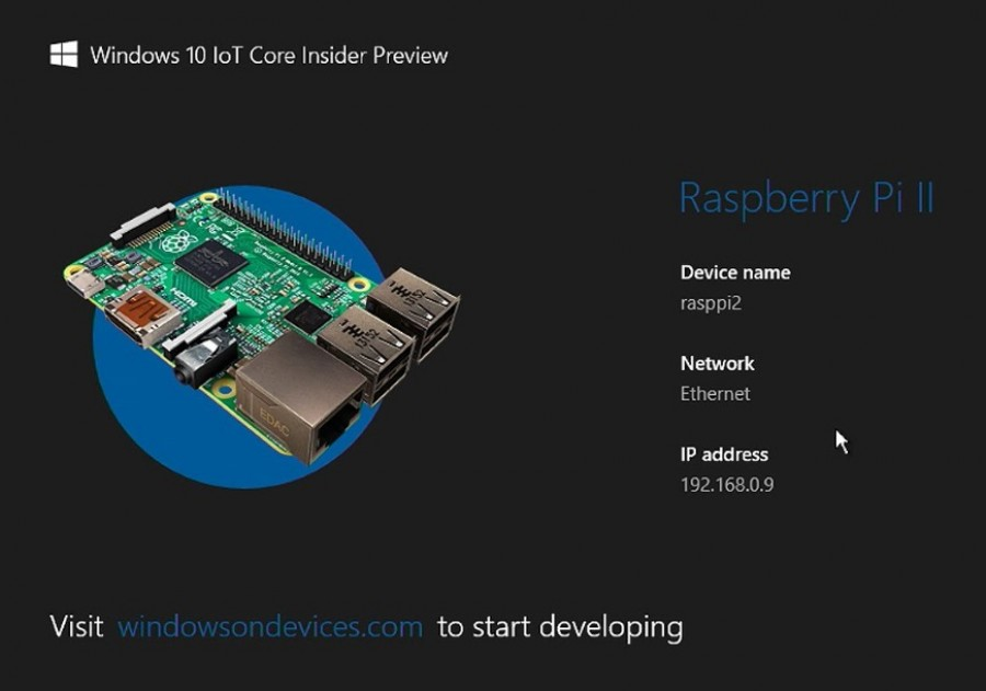 Microsoft disponibiliza o Windows 10 IoT Core Preview Build 17110