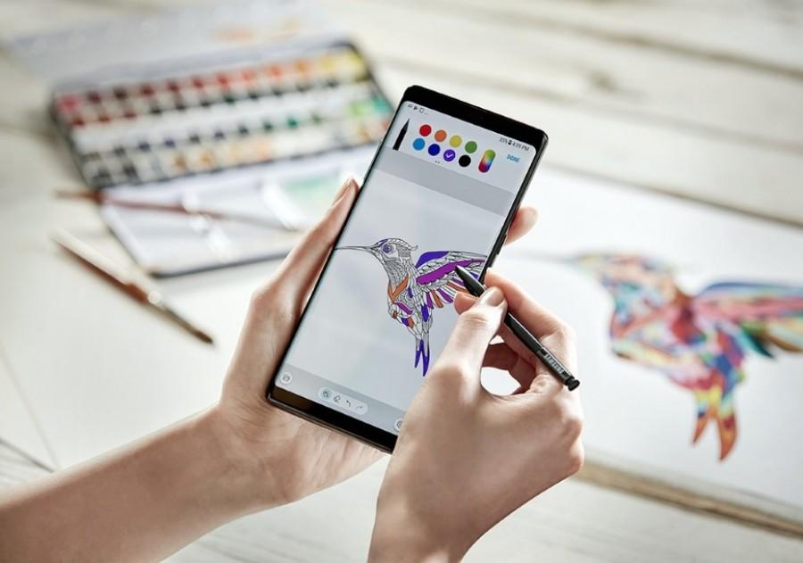 Próximo Galaxy Note pode trazer display dobrável