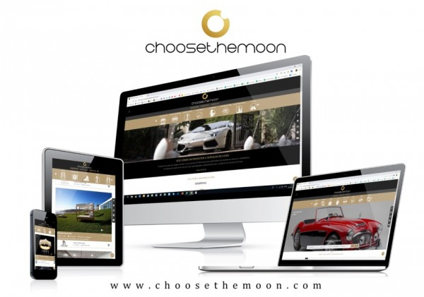 MarketPlace de marcas de «luxo» CHOOSETHEMOON atualiza website