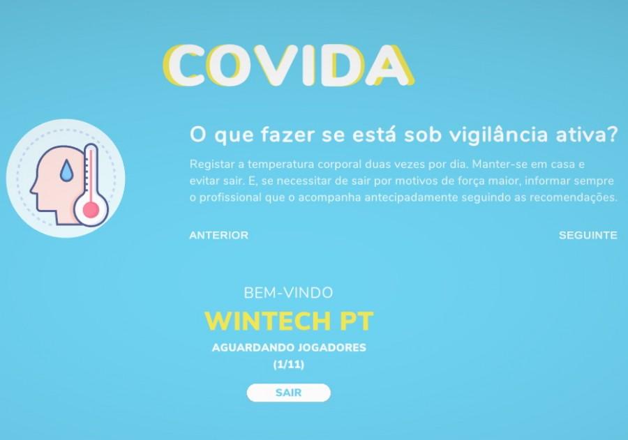 Jogo de computador para boas práticas sociais COVID-19 é lançado pelo IST