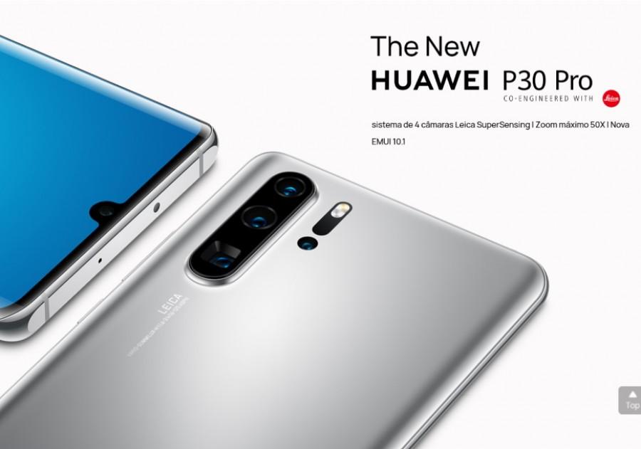 Huawei P30 Pro New Edition chega a Portugal por 799€