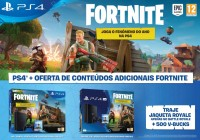 Pack Fortnite Battle Royale para a PlayStation 4 chegou Portugal