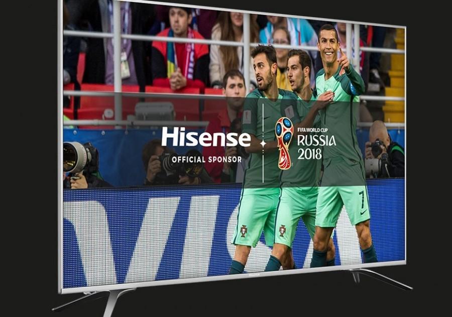 Hisense lança campanha 'Em Casa com Hisense'